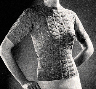 Sea Shells Pullover Pattern #1130