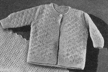 Knitted Sweater Pattern #594