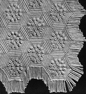 Petal Bedspread Pattern #652