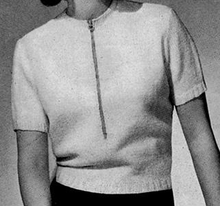Snowdrop Pullover Pattern #1160