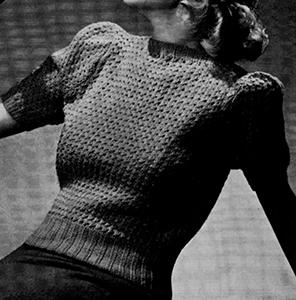Fernlace Pullover Pattern #1168