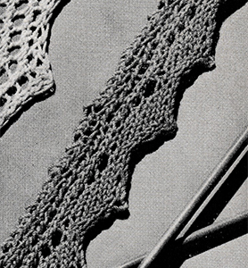 Knitted Edging Pattern #8392