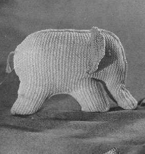 Toy Elephant Pattern #5053