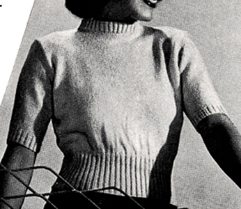 Casuals Pullover & Cardigan Set Pattern #1184