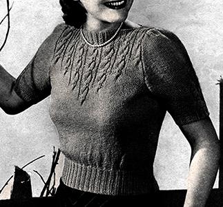 Skylark Pullover Pattern #1196