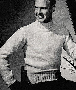 Man of Action Pullover Pattern #357