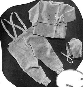 Snow Baby Snowsuit Set Pattern #5054