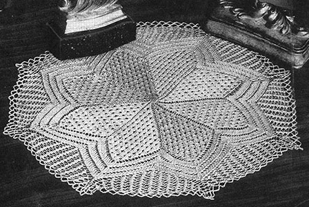Governor's Lady Doily Pattern #7403