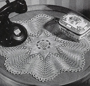 Hemlock Ring Doily Pattern #7556