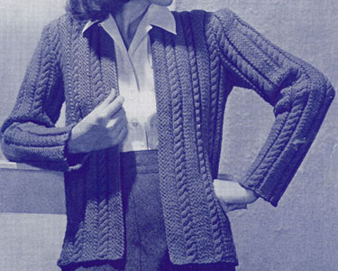 Smoothie Jacket Pattern