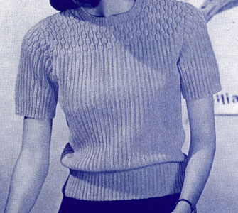 Success Girl Sweater Pattern