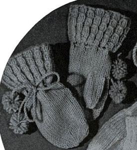 Mittens Pattern #5247