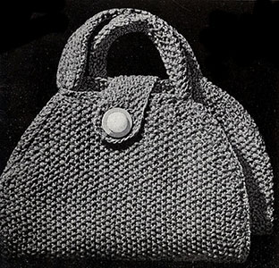 Saddle Bags Pattern #2046