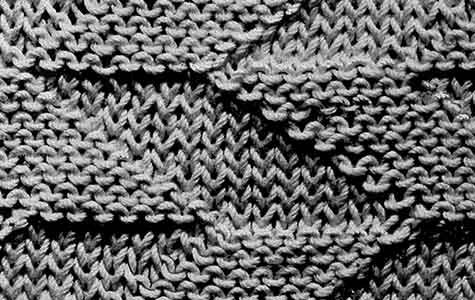 Reversible Diamond Stitch Pattern
