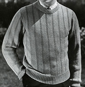 Tee-Off Pullover Pattern #319
