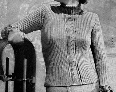 Swing Time Pullover Pattern #1072