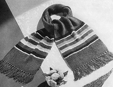 Boucle Scarf Pattern #2207