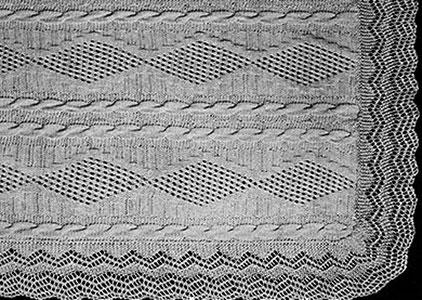 Trailing Vine Bedspread Pattern #631