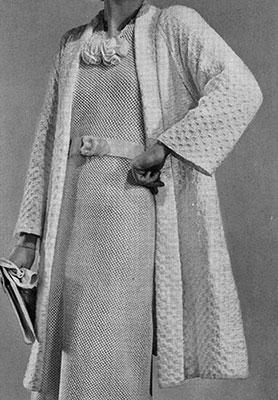 Lido Coat Pattern #1090