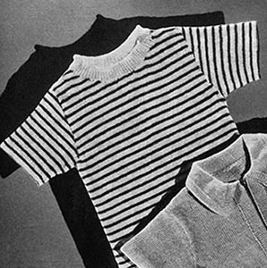 Striped Shirt Pattern #542