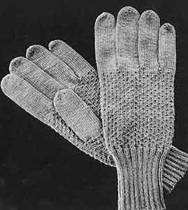 Men's Gloves Pattern