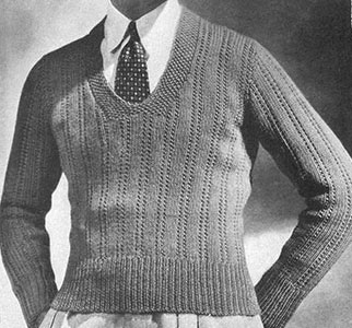 Ascot Pullover Pattern #330