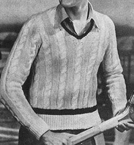 Wimbledon Pullover Pattern #332