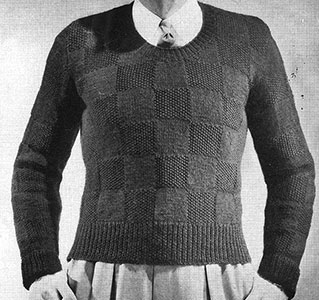 Campus Pullover Pattern #334