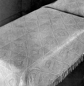 Knitted Bedspread Pattern