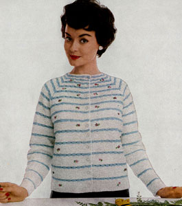 Straight Line Cardigan Pattern