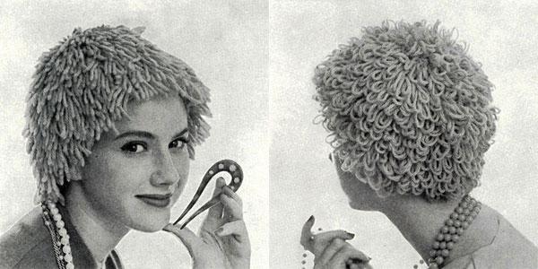 Wig Hats Pattern