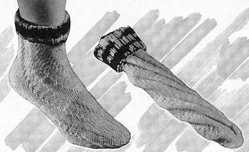 Spiral Sock Pattern #1515