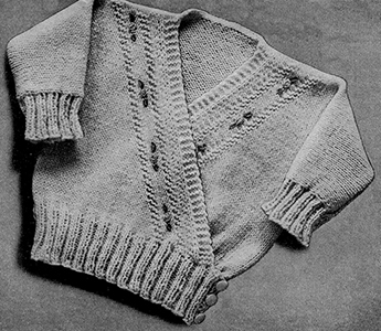 Surplice Sweater Pattern #2003
