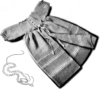 House Coat Pattern #2007