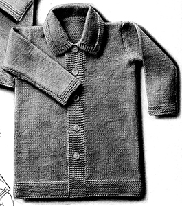 Boy's Coat Pattern #2021