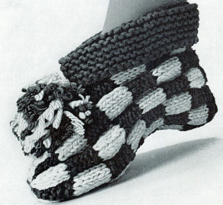 Crochet Slippers Pattern Knitted Slippers Pattern by natalya1905