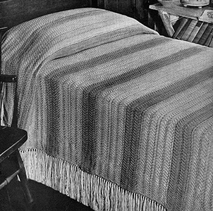 Texas Ranch Bedspread Pattern #3409