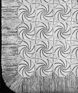 Shell Bedspread Pattern