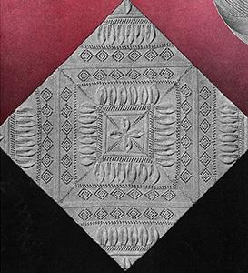 Modern Knitted Bedspread Pattern
