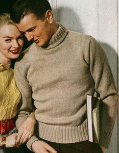 Mens Turtleneck Sweater Pattern