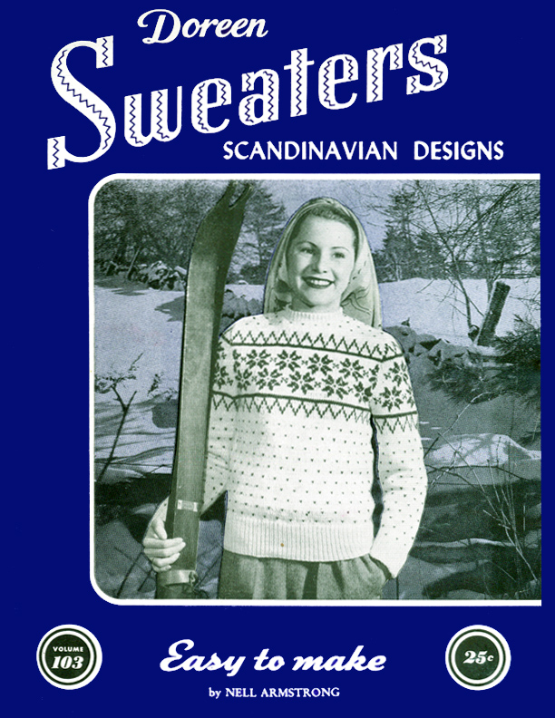 Sweaters Scandinavian Designs | Volume 103 | Doreen Knitting Books