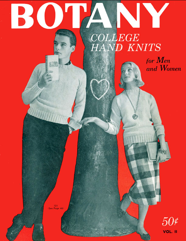 College Hand Knits for Men and Women | Botany Volume II