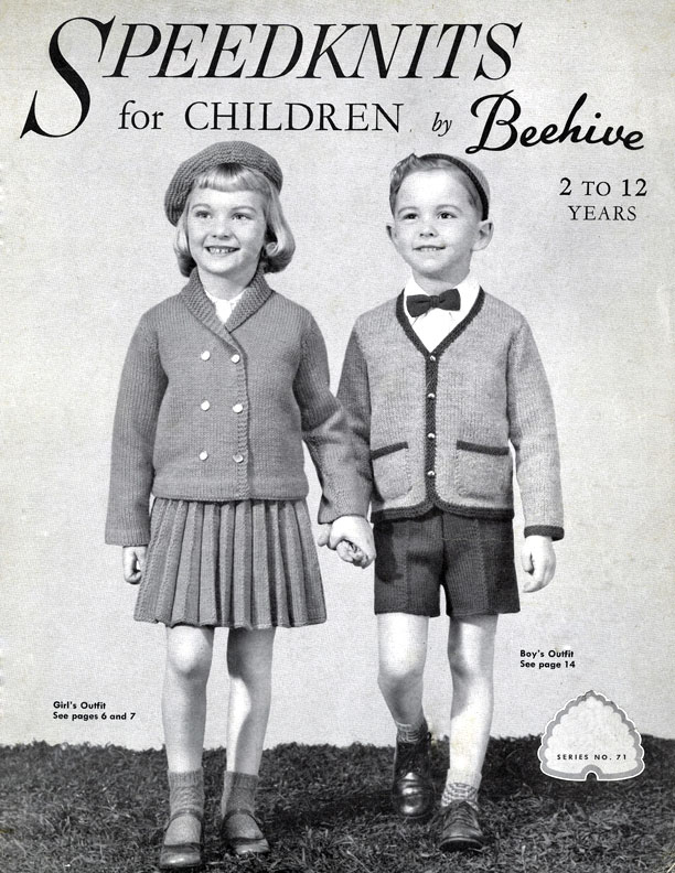 Speedknits for Children by Beehive | Patons & Baldwins Book No. 71