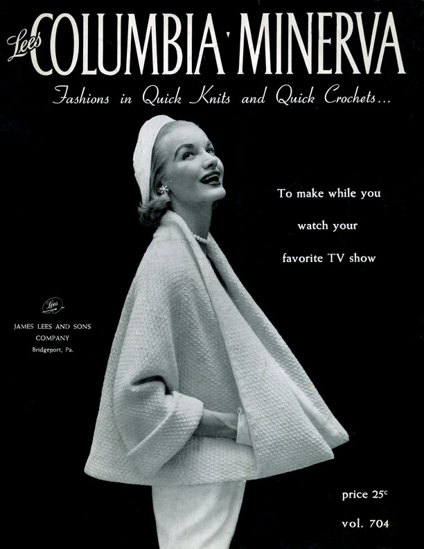 Fashions in Quick Knits & Quick Crochets | Columbia Minerva Volume 704
