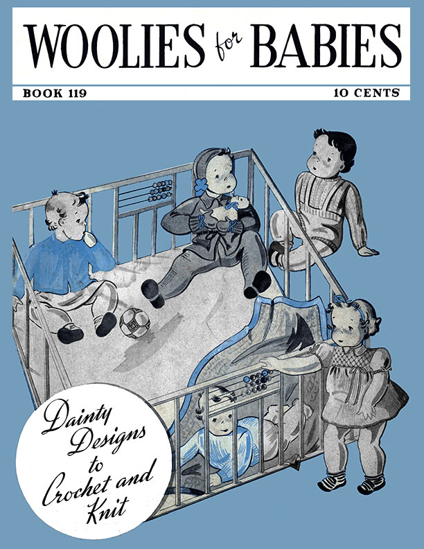 Woolies for Babies | Book No. 119 | The Spool Cotton Company