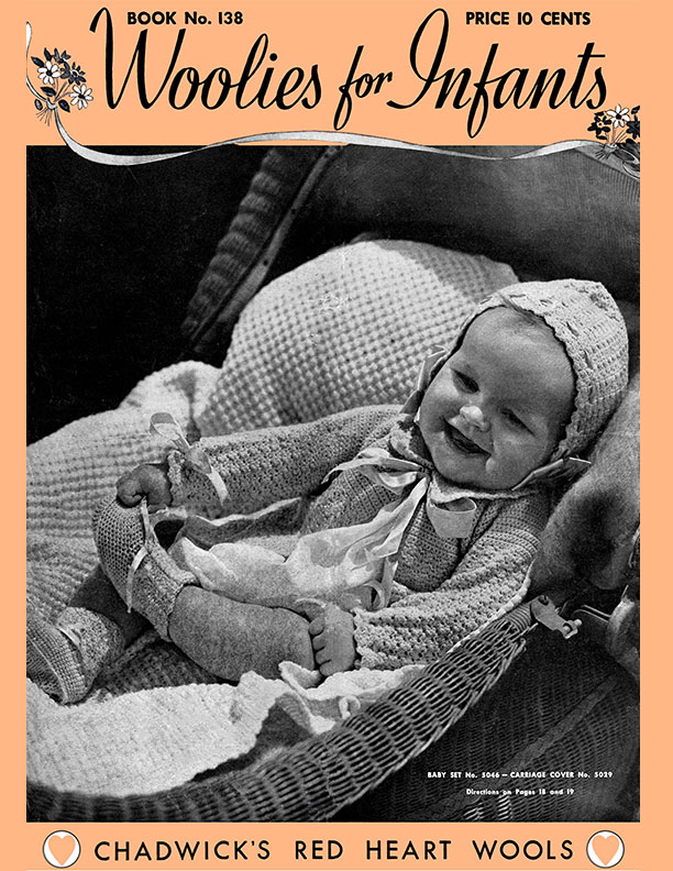 Woolies for Infants | Book No. 138 | The Spool Cotton Company
