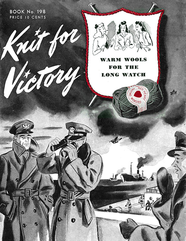 Knit for Victory | Book No. 198 | The Spool Cotton Company