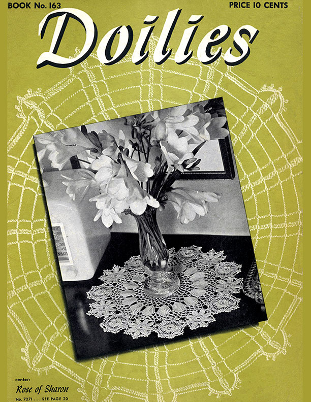 Doilies | Book No. 163 | The Spool Cotton Company