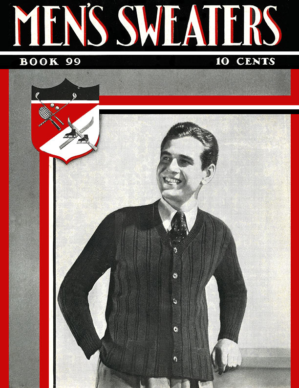 Men's Sweaters | Book No. 99 | The Spool Cotton Company