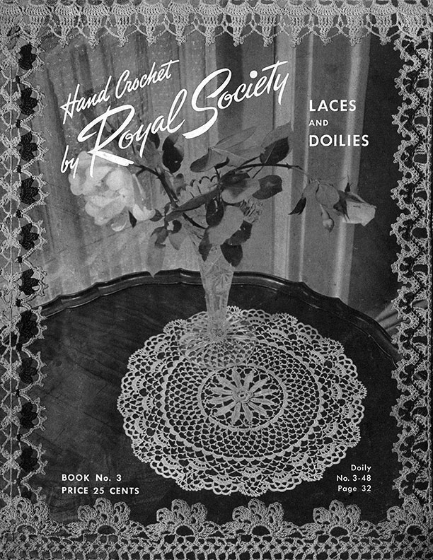 Laces and Doilies | Book No. 3 | Hand Crochet by Royal Society